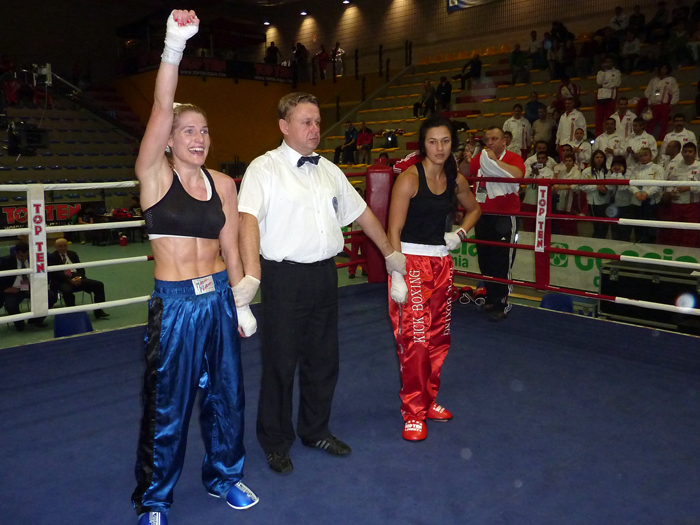 Thea Therese Næss - / Foto: Per Andreas Ringsby (team.norway@kickboxing.no)