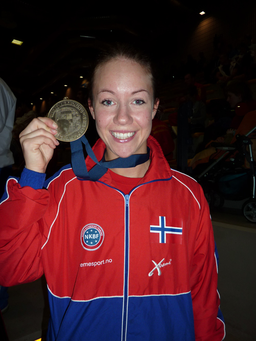 Anette Sexe - / Foto: Per Andreas Ringsby (team.norway@kickboxing.no)